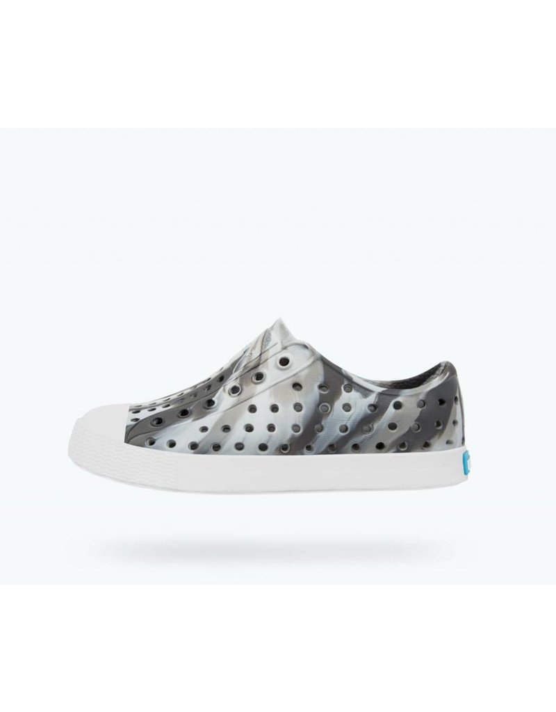 NATIVE Native Jefferson Marbled Jr - Dublin Grey - Kids Shoes