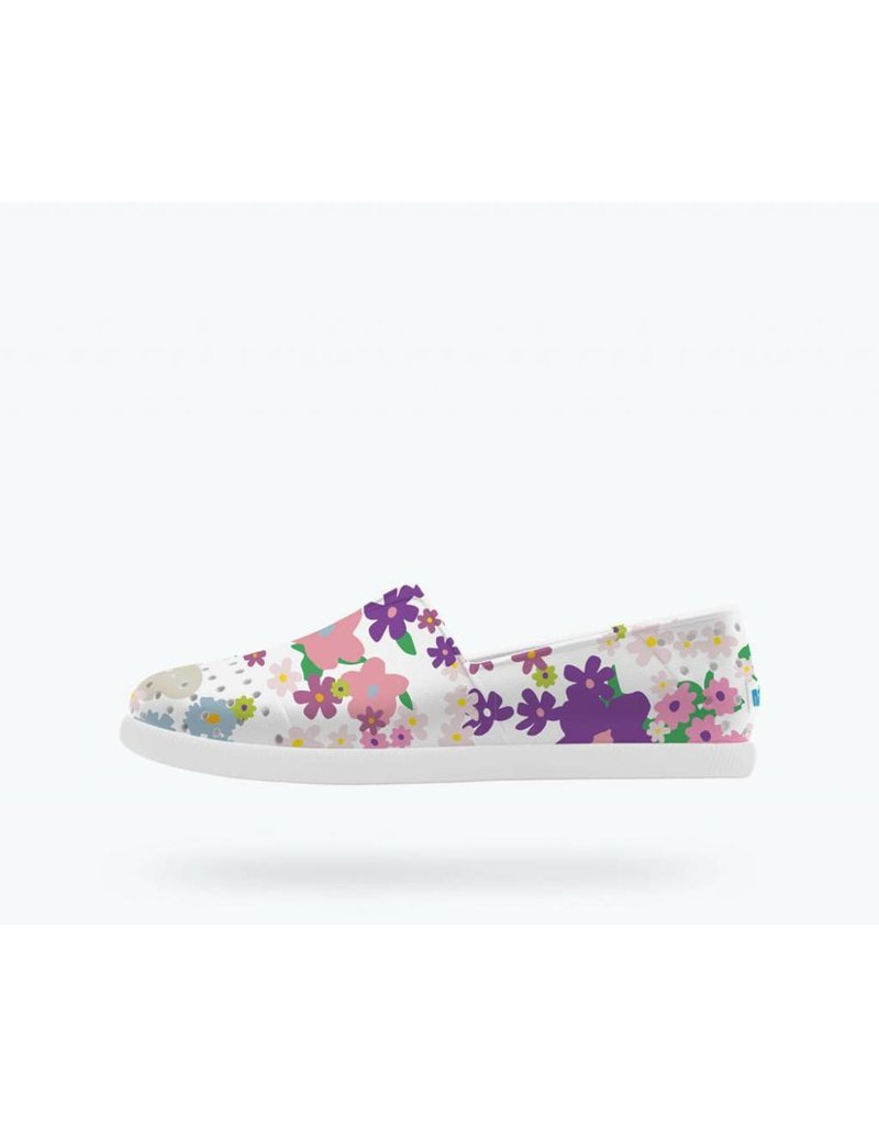 NATIVE Native Verona Print - Shell White - Toddler Shoes