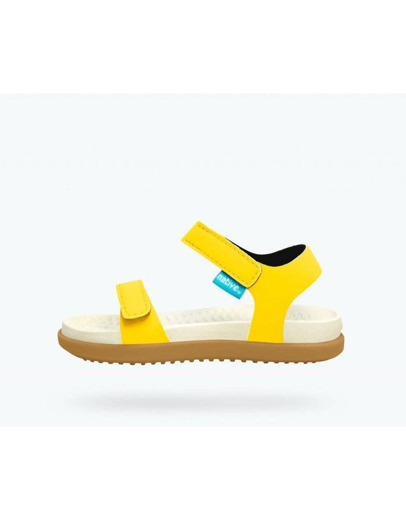 NATIVE Native Charley Jr - Crayon Yellow - Kids Shoes