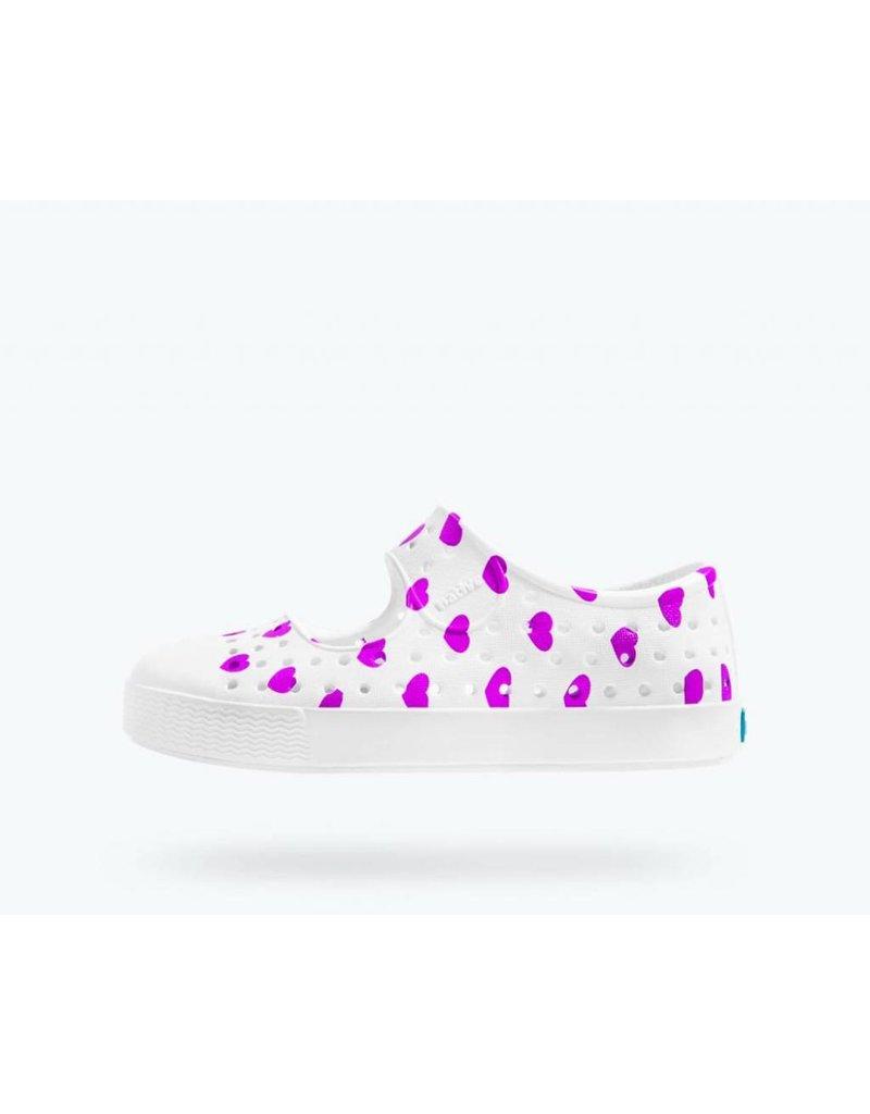 NATIVE Native Juniper Print - White/Peace - Toddler Shoes
