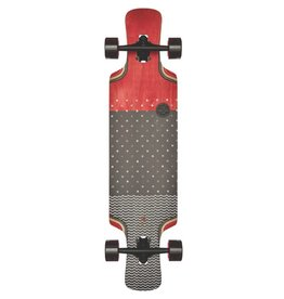 "Globe Geminon Kick 37.5"" Red/Dotwave"