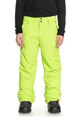 QUIKSILVER Quiksilver Estate Kids Snow Pant Lime