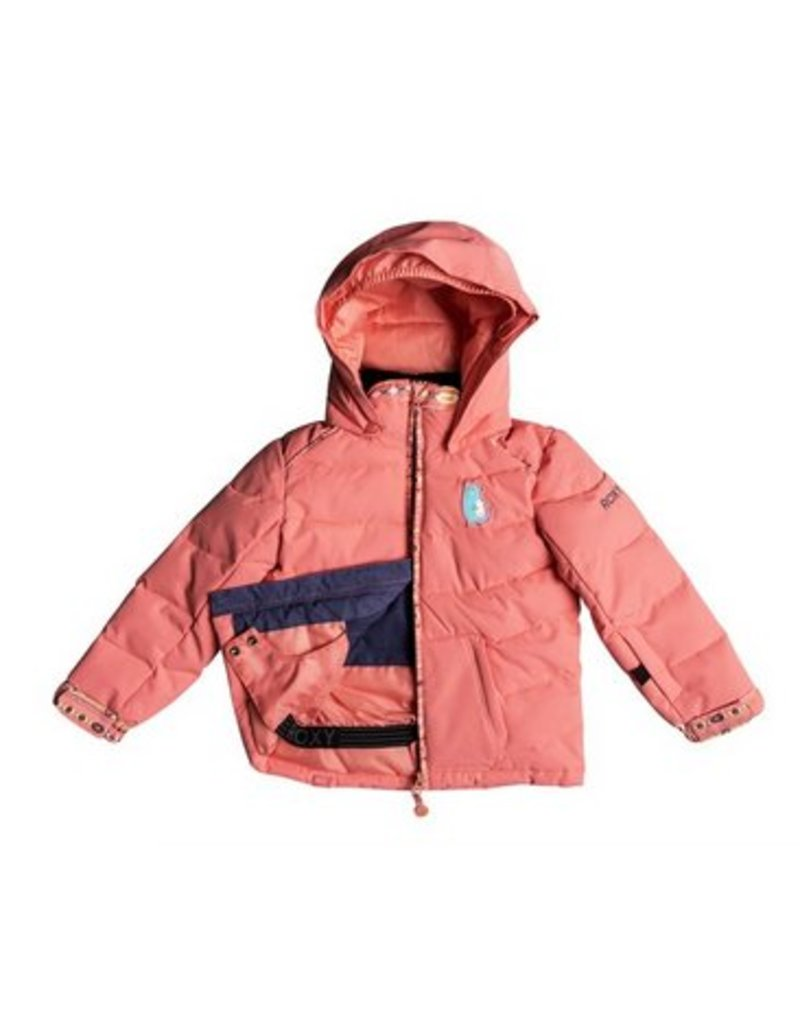 ROXY Roxy Anna Kids Snow Jacket Pink