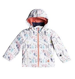 ROXY Roxy Mini Jetty Jacket White