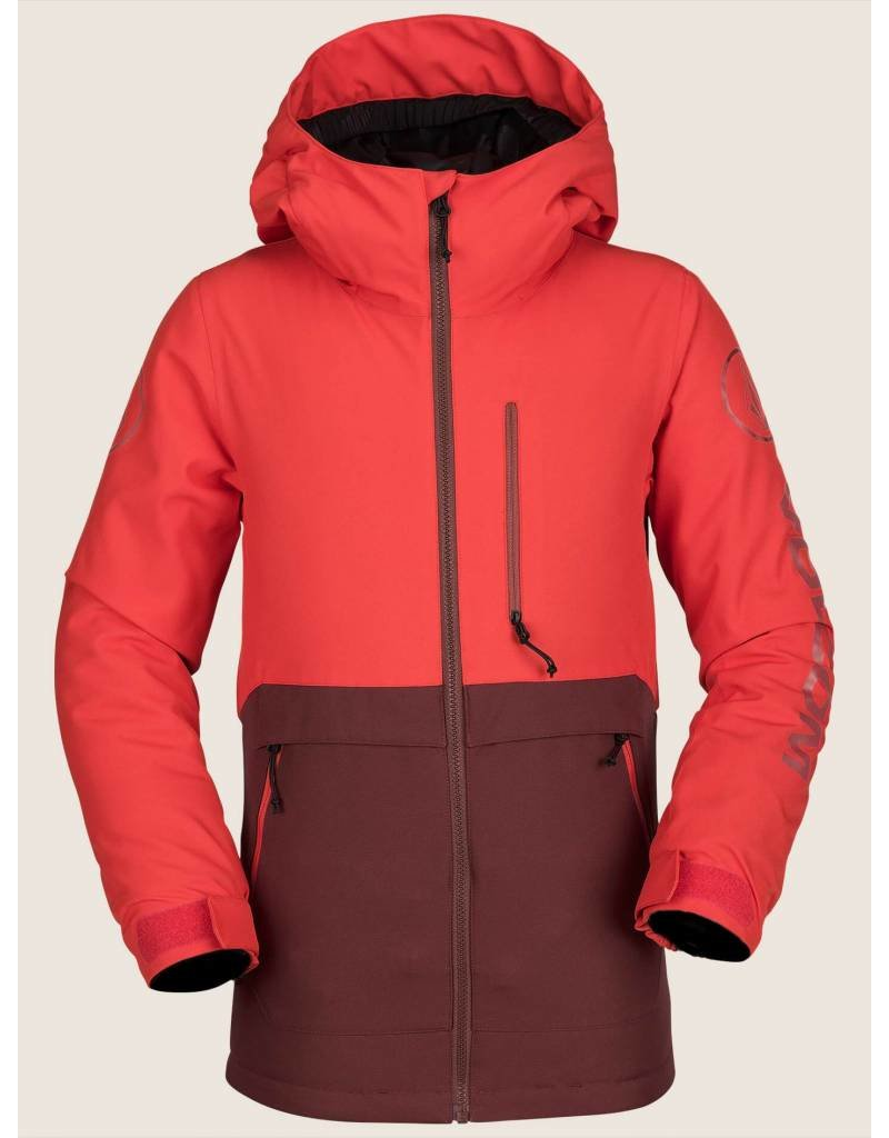 VOLCOM Volcom Holbeck Boys Snow Jacket Red