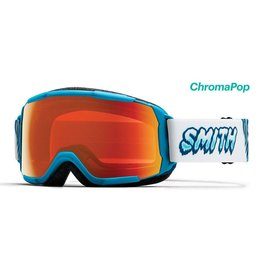 SMITH Smith Grom Jr. Goggle Cyan Yeti w/ Red