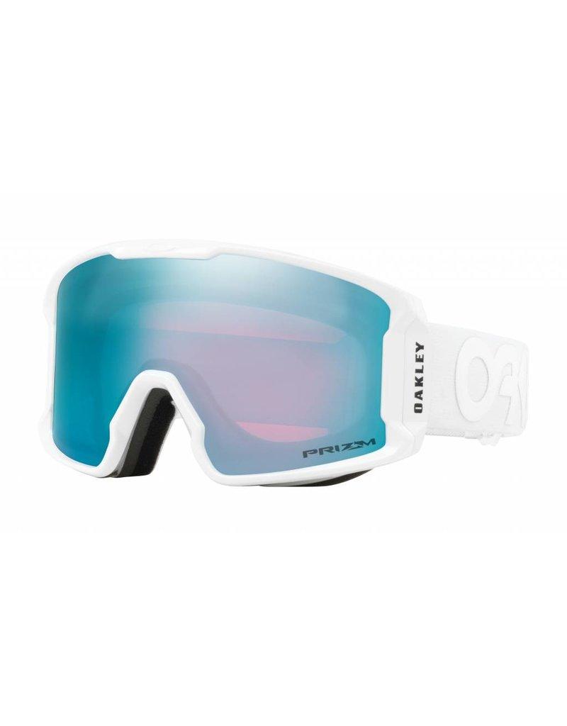 OAKLEY Oakley Line Miner XM Snow Goggle Factory White w/ Prizm Snow Sapphire Iridium