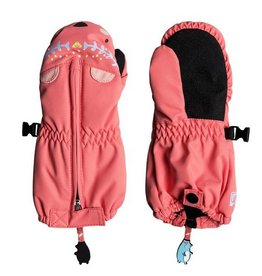 ROXY Roxy Snow's Up Mitt Shell Pink