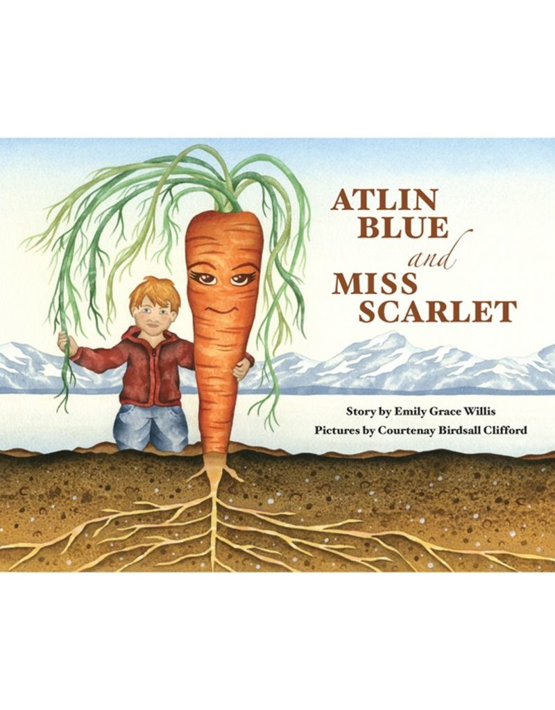 An Alaskan fable of great proportions, Atlin Blue and Miss Scarlet tells a story<br />An Alaskan fable of great proportions,<br />An Alaskan fable of great proportions, Atlin Blue and Miss Scarlet tells a story of the magic that can happen when you plant a seed.