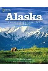 Alaska, a visual tour of America's great land(Nat Geo)hc -- Devine, Bob