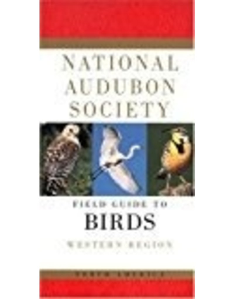 Field guide to BIRDS; Western Region - National Audubon Society