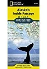 Map - Alaska's Inside Passage (Nat. Geo.)