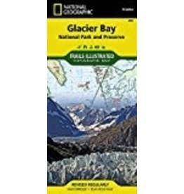 Map - Glacier Bay (Nat. Geo.)
