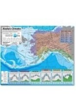 Alaska's Climates map; laminated sheet