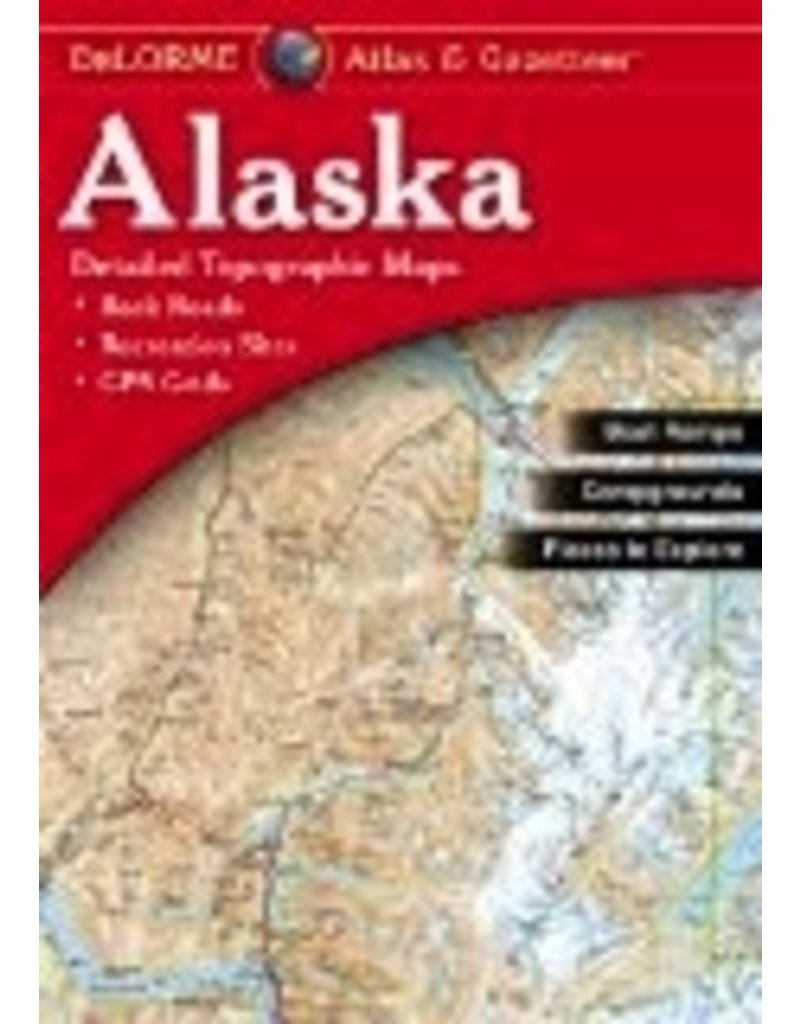 Alaska Atlas & Gazetteer - DeLorme