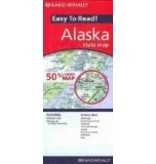 Map - Rand Mcnally Easy to Read Alaska State Map - Rand McNally