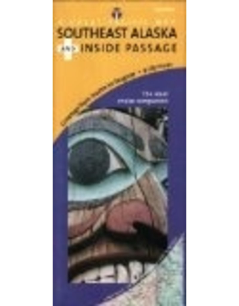 Map - Southeast Alaska's Inside Passage Road & Recreation Map, 3rd Edition - Great Pacific Recreation & Tra