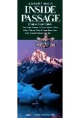 Map - 6ft.Alaska & Canada's Inside Passage (Cruise Tour Guide) - Coastal Cruise Tour Guides