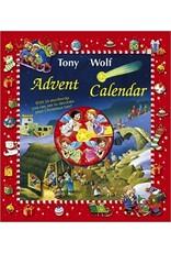 Advent Cal.w/mini books,Tony Wolf Xmas set - Tony Wolf