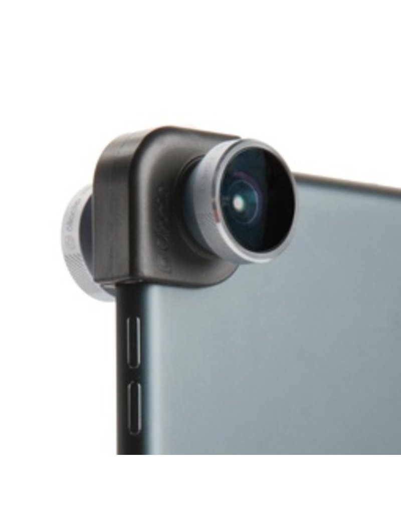 OlloClip OlloClip 4-in-1 Lens for iPad Air/iPad Mini 1/2/3 - Silver / Black