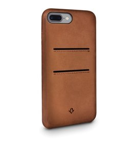 Twelve South Twelve South Relaxed Leather Case with Pockets for iPhone 8/7/6 Plus - Cognac