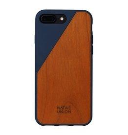 Native Union Native Union Clic Wooden Case for iPhone 8/7 Plus - Marine