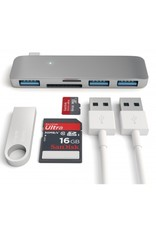 Satechi Satechi USB-C Passthrough Hub - Space Gray