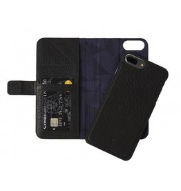 Decoded Decoded 2-in-1 Wallet Case for iPhone 8/7/6 Plus- Black