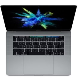 Apple 15-inch MacBook Pro with Touch Bar: 2.8GHz quad-core i7, 16GB, 256GB, Radeon Pro 555 2GB - Space Gray
