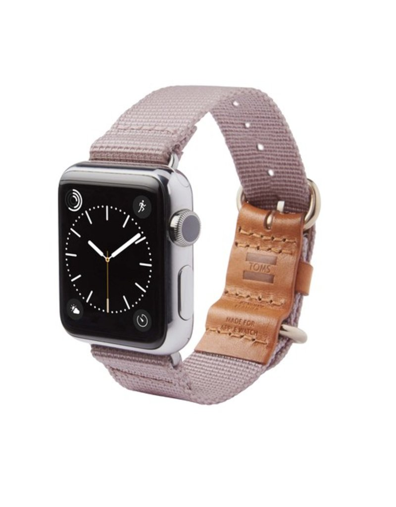 TOMS TOMS Apple Watch 38mm Utility Band - Dusty Pink