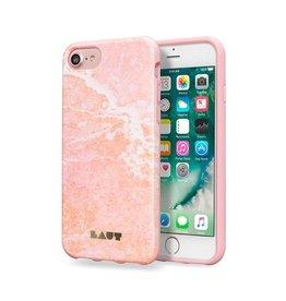 Laut Laut Huex Elements Case for iPhone 8/7/6 - Pink Marble