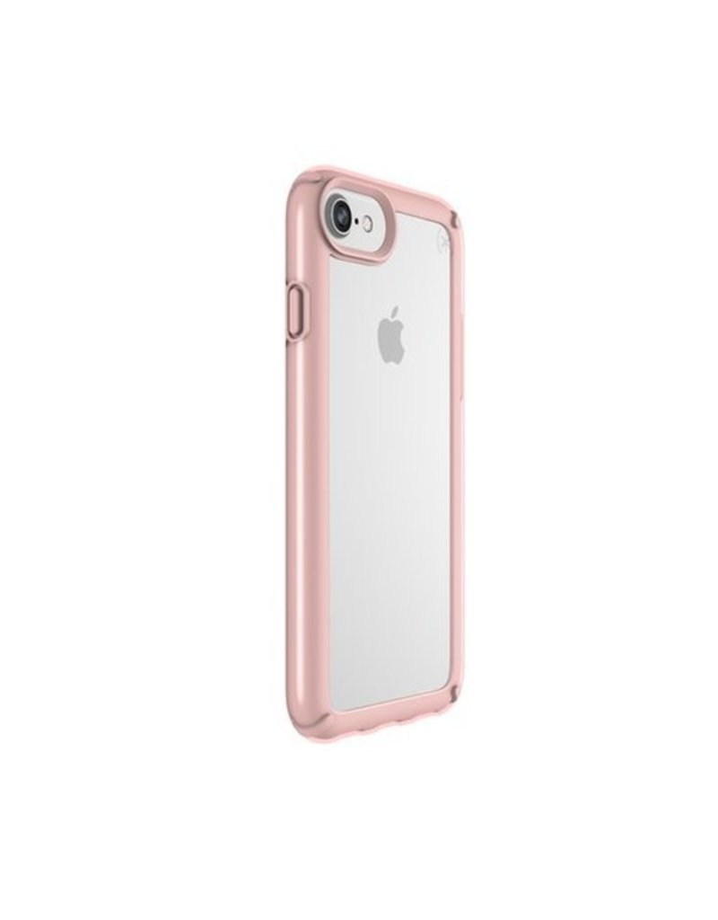 Speck Speck Presidio Show for iPhone 8/7/6 - Clear / Rose Gold