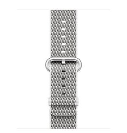 Apple Apple Watch 38mm White Check Woven Nylon