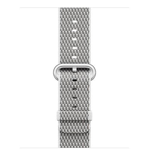 Apple Apple Watch 38mm White Check Woven Nylon