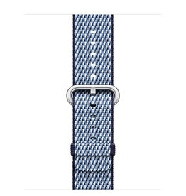 Apple Apple Watch 38mm Midnight Blue Check Woven Nylon