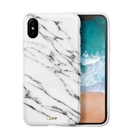 Laut Laut Huex Elements Case for iPhone X  - White Marble