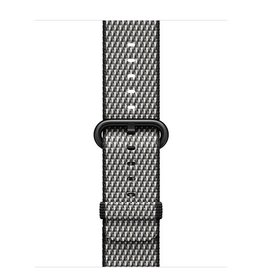 Apple Apple Watch 38mm Black Check Woven Nylon