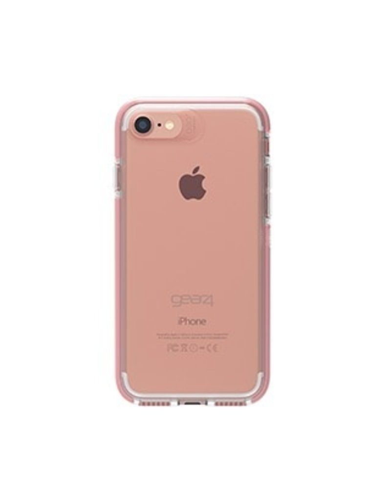 Gear4 Gear4 D30 Piccadilly Case for iPhone 6/7/8 - Clear / Rose Gold