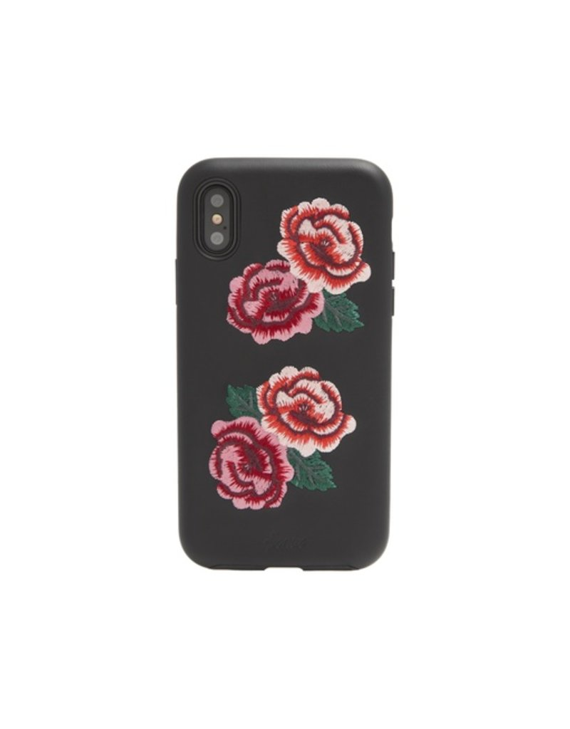 Sonix Sonix Embroidered Case for iPhone X - Flora