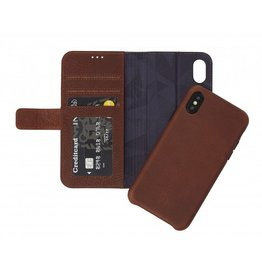 Decoded Decoded 2-in-1 Wallet Case for iPhone X - Cinnamon Brown