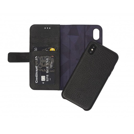 Decoded Decoded 2-in-1 Wallet Case for iPhone X - Black