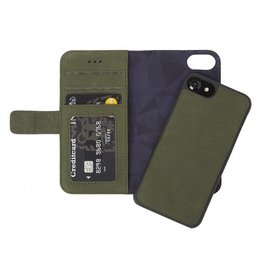 Decoded Decoded 2-in-1 Wallet Case for iPhone 8/7/6 - Green