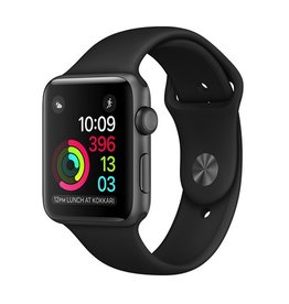 Apple Apple Watch Series 1 42mm Space Gray Aluminum Case with Black Sport Band