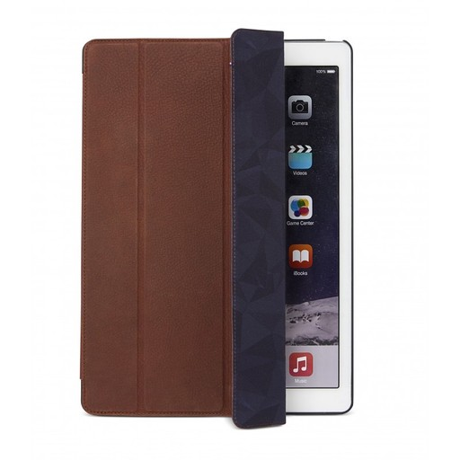 Decoded Decoded Leather Slim Folio for 12.9-inch iPad Pro - Cinnamon Brown