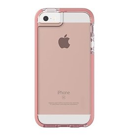 Gear4 Gear4 D30 Piccadilly Case for iPhone 5/SE - Clear / Rose Gold