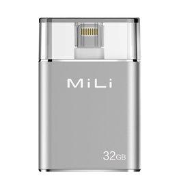 MiLi MiLi iData Pro Flashdrive 32GB - Silver