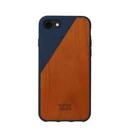 Native Union Native Union Clic Wooden Case for iPhone 8/7 - Marine