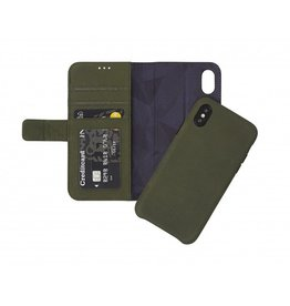 Decoded Decoded 2-in-1 Wallet Case for iPhone X - Green