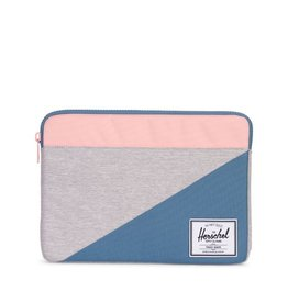 Herschel Supply Herschel Supply Anchor Computer sleeve 13 Inch (Oct 2016) - Light Grey / Blue / Pink