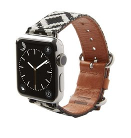 TOMS TOMS Apple Watch 42mm Artisan Band - Black Diamond